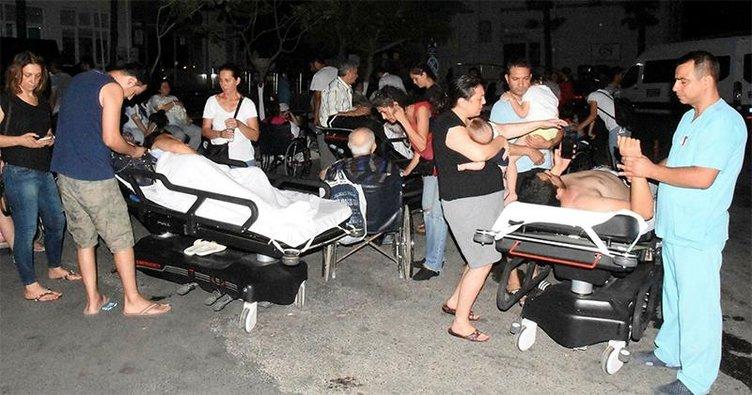 Жители Бодрума выпрыгивали из окон: землетрясение - Видео