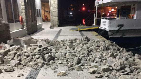 تورکییهده زلزله باش وئردی