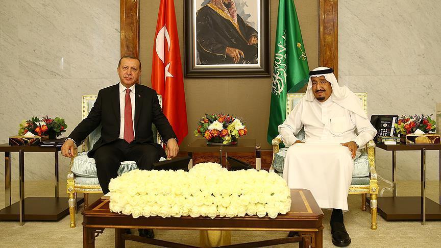 Саудовский король позвонил Эрдогану