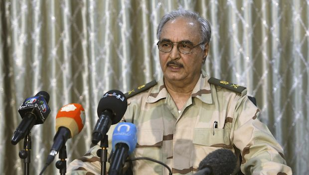Haftar went to Athens promptly - Reason