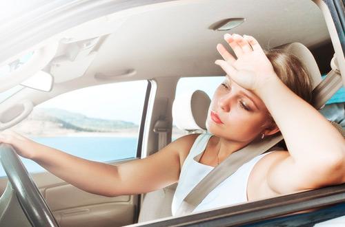 Жара замедляет реакции водителя