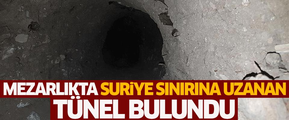تورکییهدن سورییایا اوزانان تونل تاپیلدی