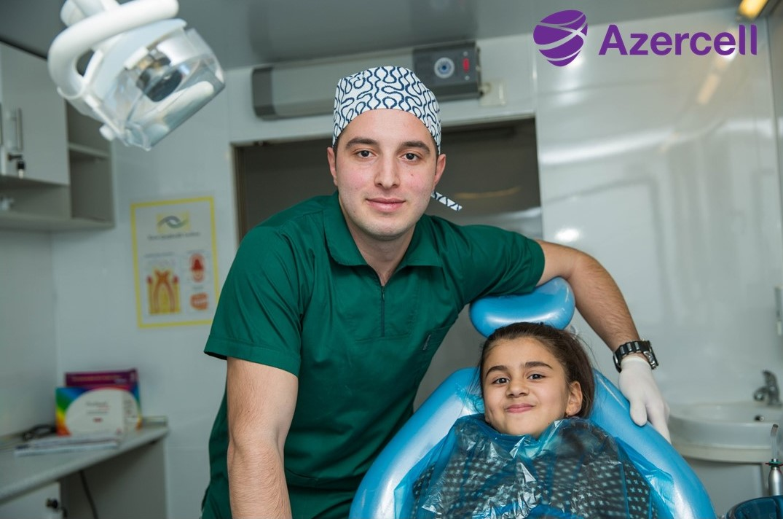 Mobil Diş Klinikası təmənnasız yardımı davam etdirir
