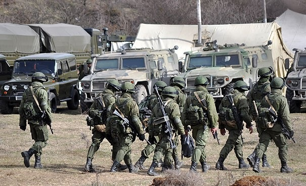 Russia sent additional troops to the border with Turkey