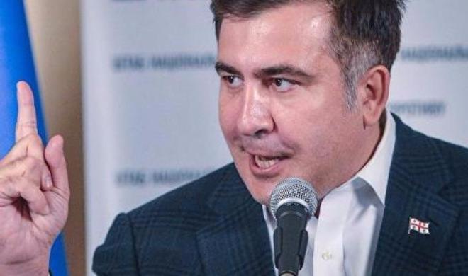 Киев решил выслать Саакашвили до конца года