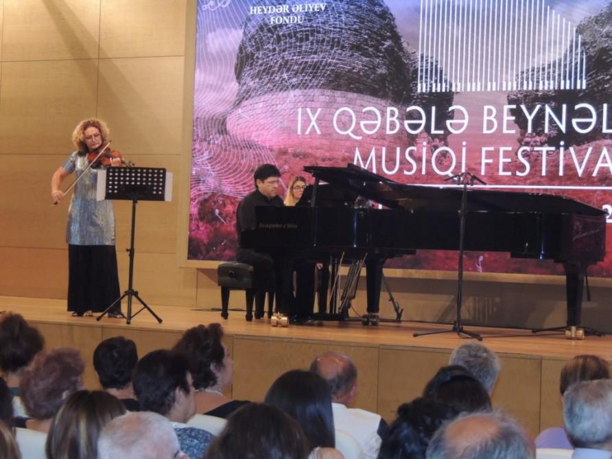 İsrail və ABŞ-ın musiqiçiləri Qəbələdə konsert verdi