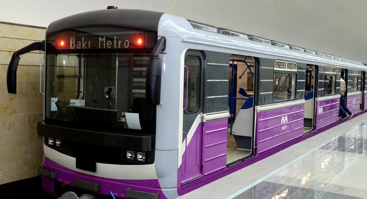 Bakı metrosunda qatarların intervalında fasilə yarandı