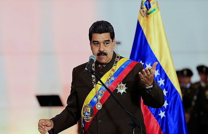 Venezuelan President Maduro swears in for 2nd term