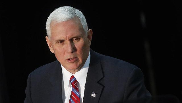 Palestinians slam 'hostile' visit by US vice president