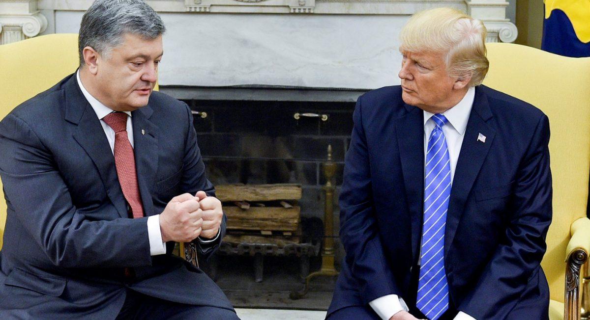 Трамп поздравил Порошенко с Днем независимости