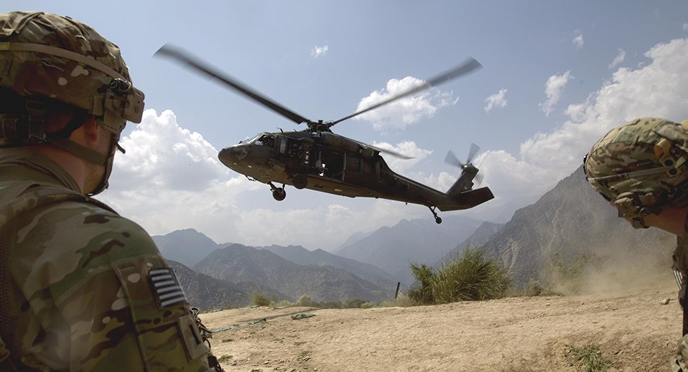2 US soldiers killed in an Afghan helicopter crash