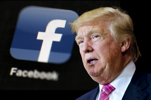 Facebook staff anger over Trump post