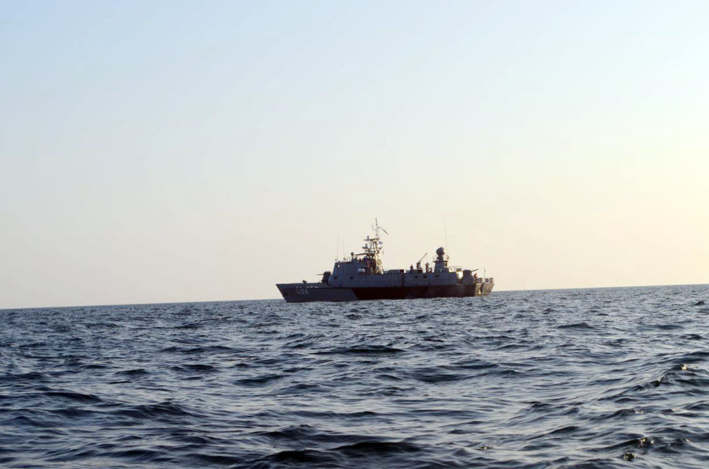 German warship heads for South China Sea