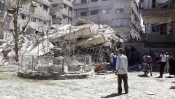 Сирия обвинила США в поддержке террористов