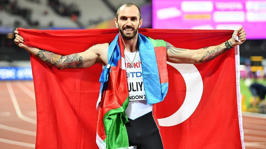 Ramil Quliyev: Mən iki ölkənin bayrağını ucaltmışam