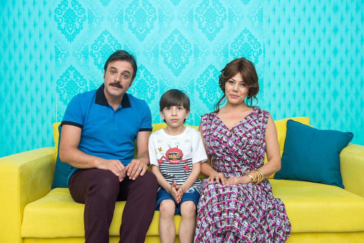 Azərbaycanlı aktyor türkiyəli ulduzlarla - Foto