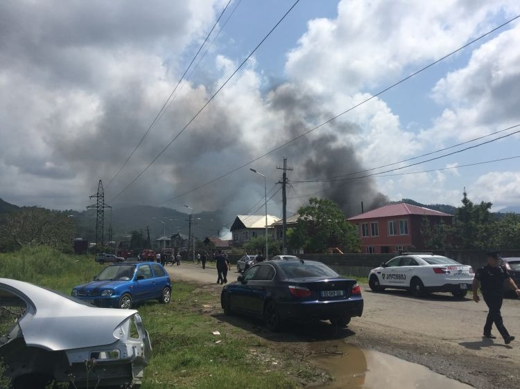 Взрыв на ГЗС в Батуми, есть пострадавшие