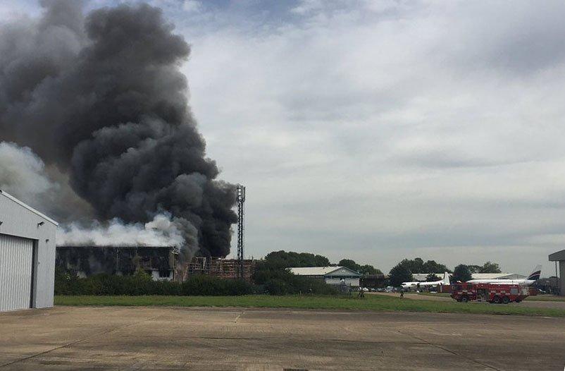 Около аэропорта Саутенд в Лондоне прогремел взрыв