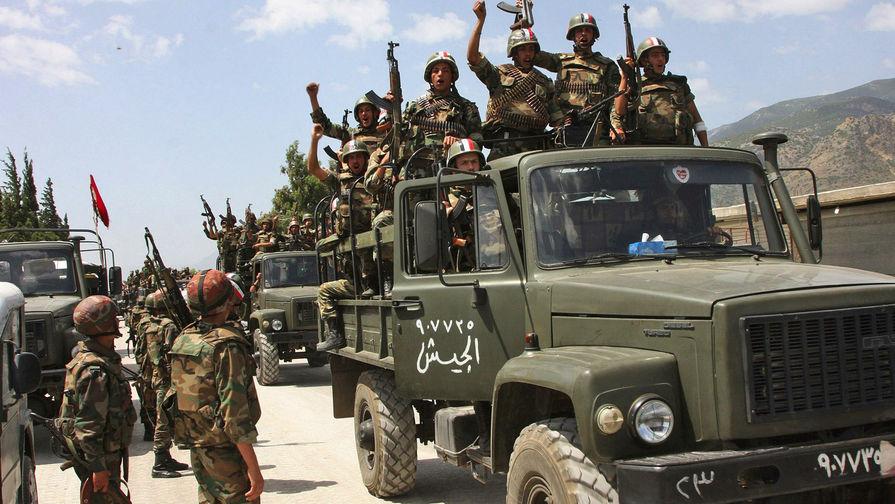 Армия Сирии начала наступление на базу США