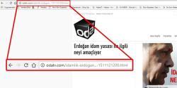 شوک سوبلیمینال مئساژی: اعداملیق اردوغان...
