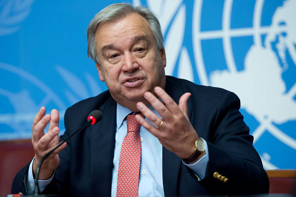Guterres calls to avoid 'a new Cold War' between US and China