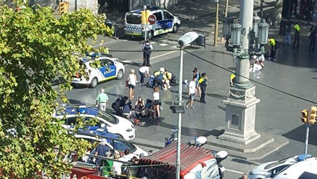 Теракт в Барселоне: 13 жертв, 119 раненых - Обновлено/Видео