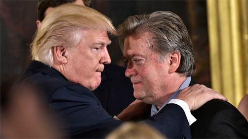 Бэннон о разногласиях в администрации Трампа