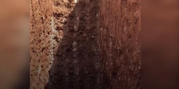 PKK-nın gizli tuneli aşkarlandı