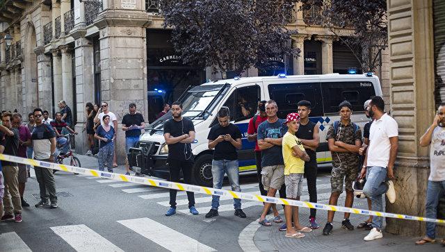 Названы имена задержанных террористов - Барселона