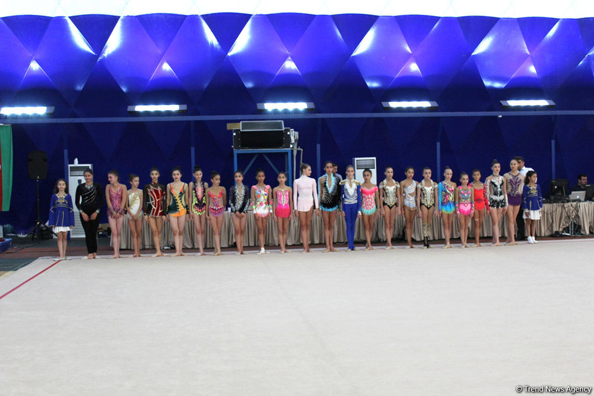 Azerbaijani gymnasts take gold at AGF Junior Trophy
