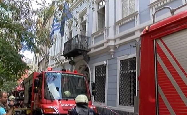 В Стамбуле горит генконсульство Греции