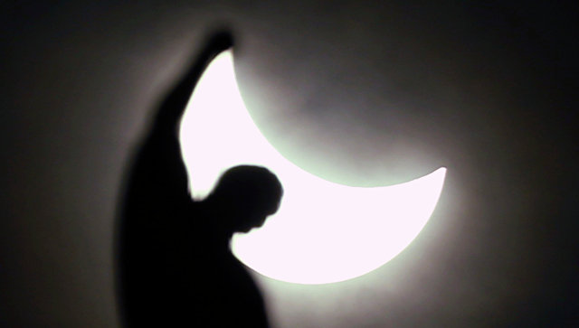 О влиянии солнечного затмения на организм