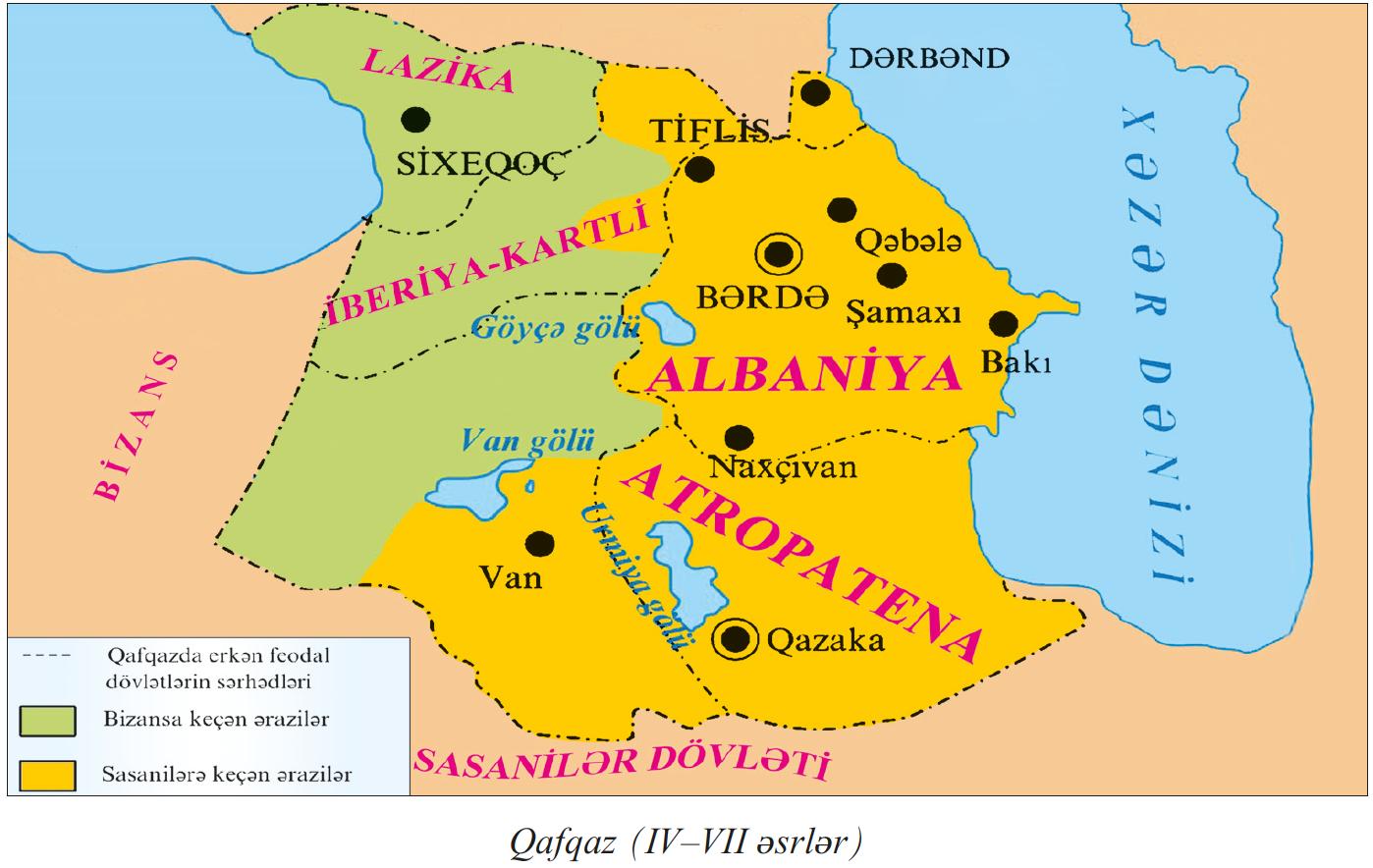 مصرده قافقاز آلبانییاسی حاقدا قدیم متن لر تاپیلدی