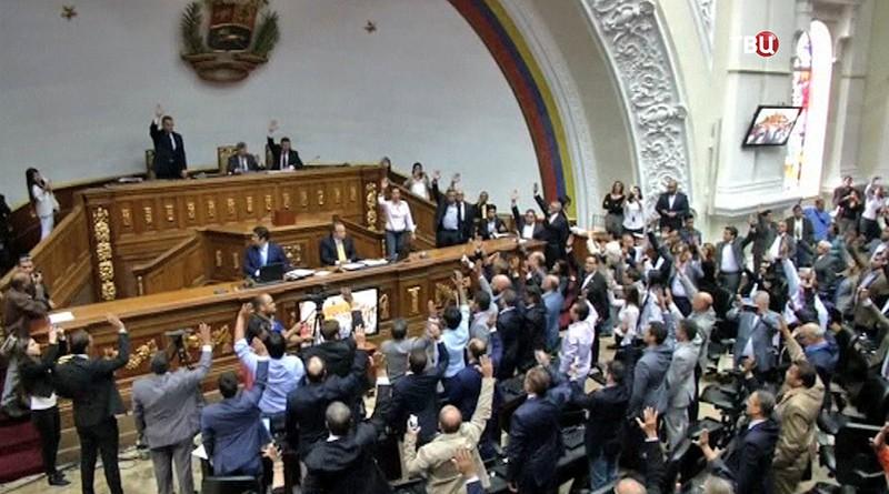 Парламент Венесуэлы не признал свой роспуск