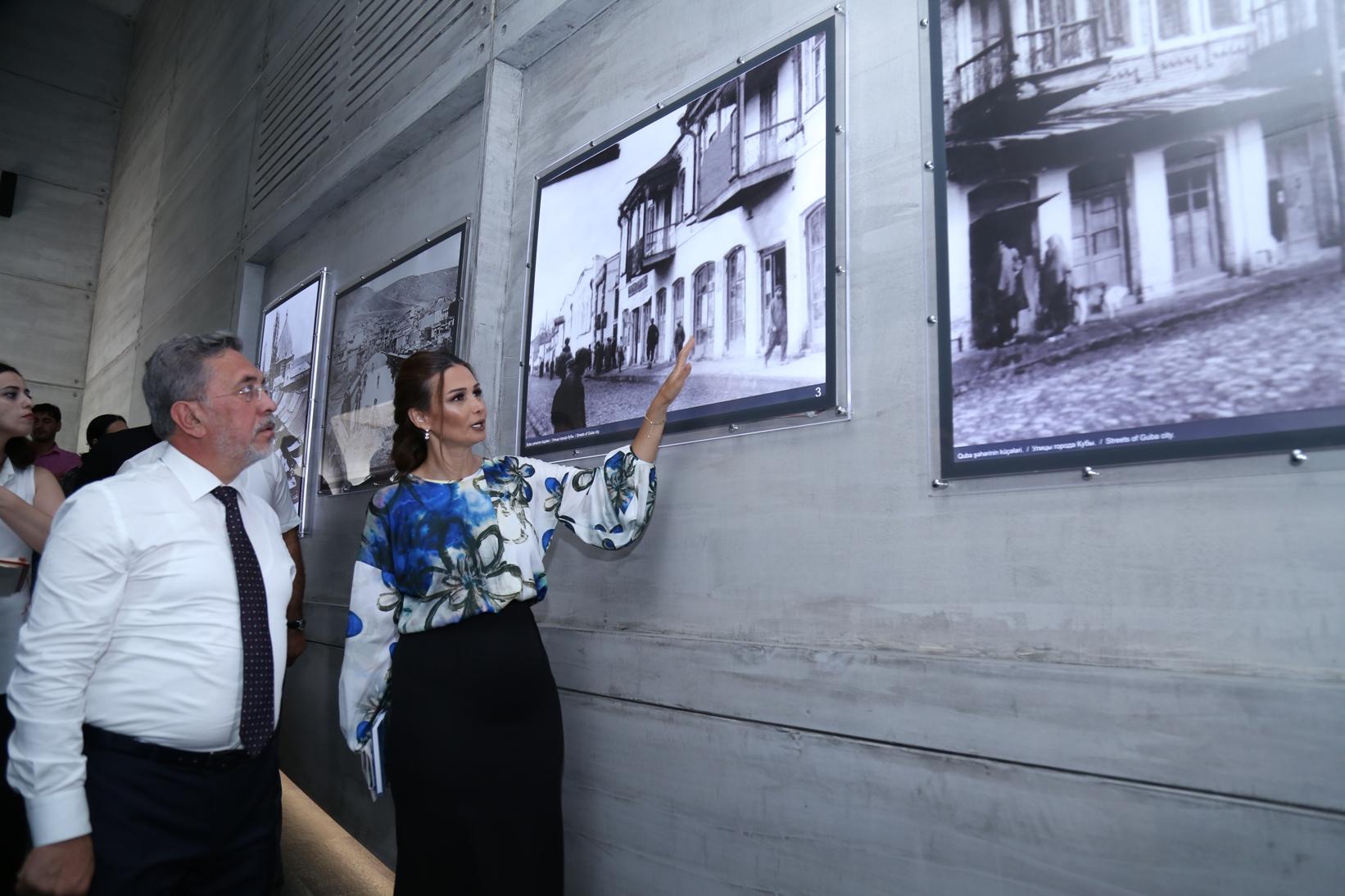 Türkiyəli qonaqlar Quba Soyqırım Kompleksində - Foto