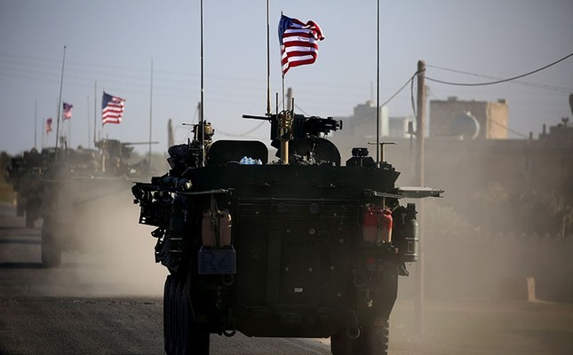 The US has sent military equipment from Iraq to Syria