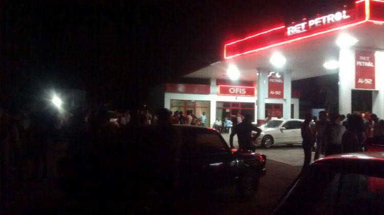 Ağstafada polis əməkdaşı bıçaqlandı