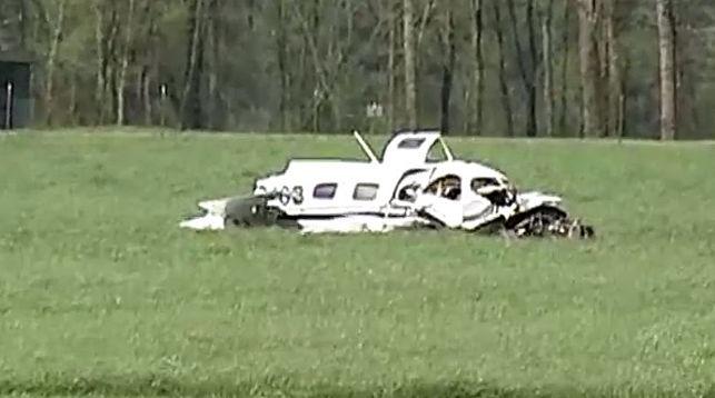 Небольшой самолет разбился в Румынии