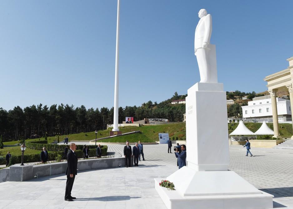 Ильхам Алиев в Гядабее - Хроника визита