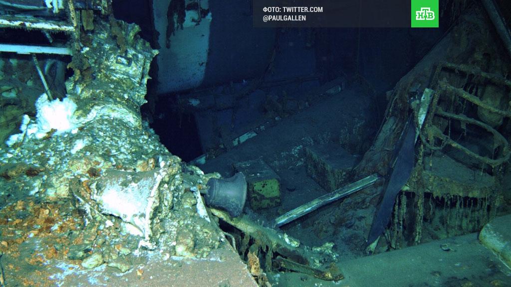 В Тихом океане нашли затопленный «Индианаполис»