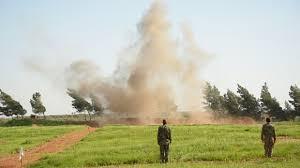 Ливанские солдаты подорвались на мине у границы Сирии