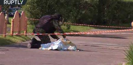Rusiyada terrorçu belə öldürüldü - Video