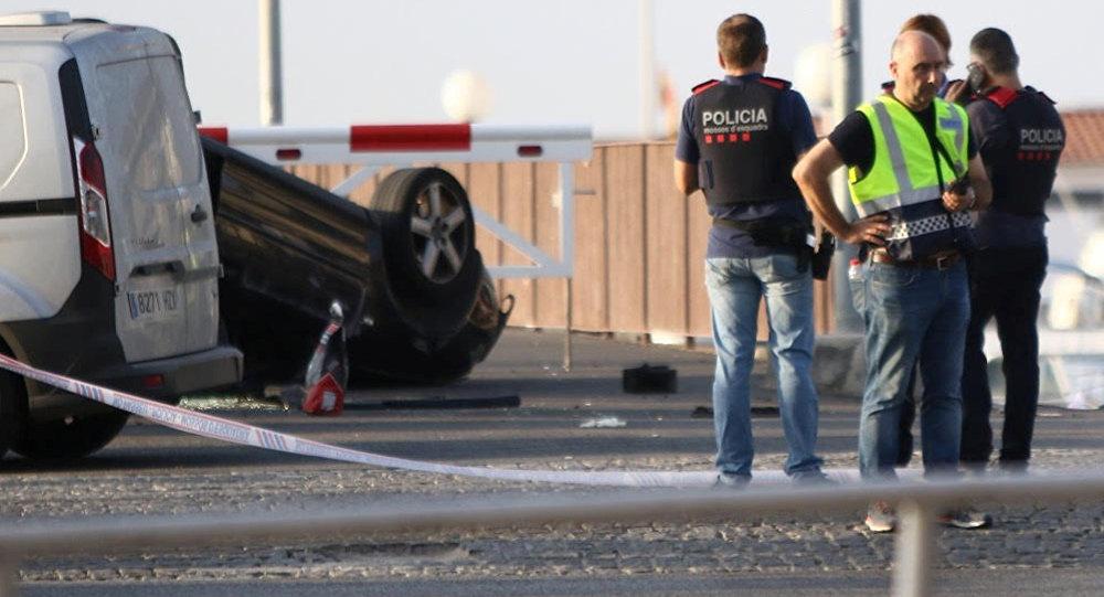 Barcelona attack Van driver identified