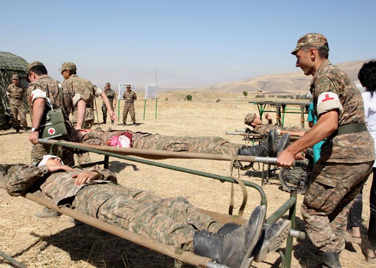 Перестрелка в армянской армии: ранены два офицера
