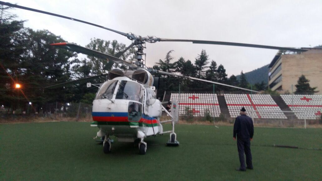 Azərbaycan helikopteri Borjomi rayonunda... - Zurab Alavidze