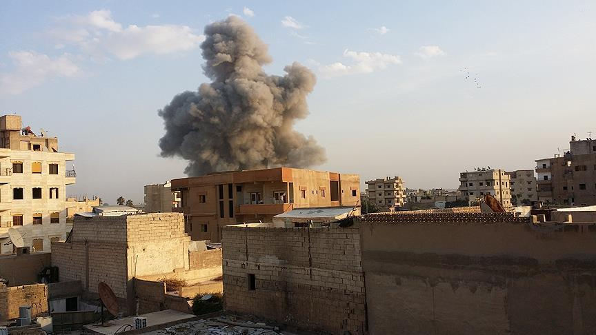 Arms depot explosion in Syria's Hama kills 6, injures 3