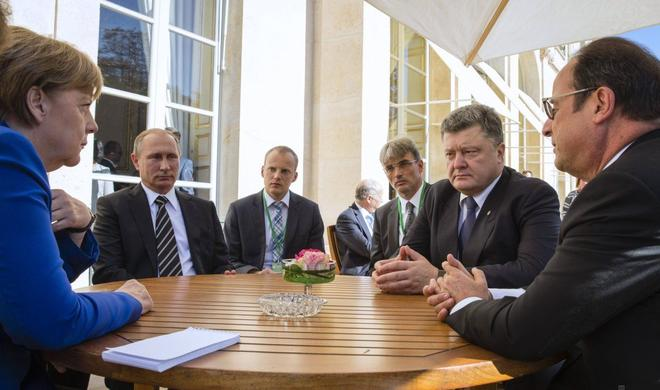 Normandy Four leaders ready to assist Minsk deal