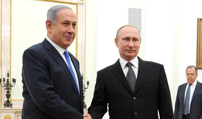Netanyahu meets with Putin