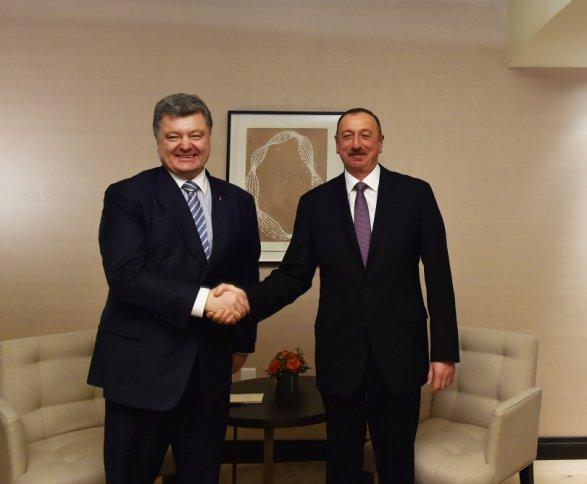 Ильхам Алиев направил Порошенко письмо
