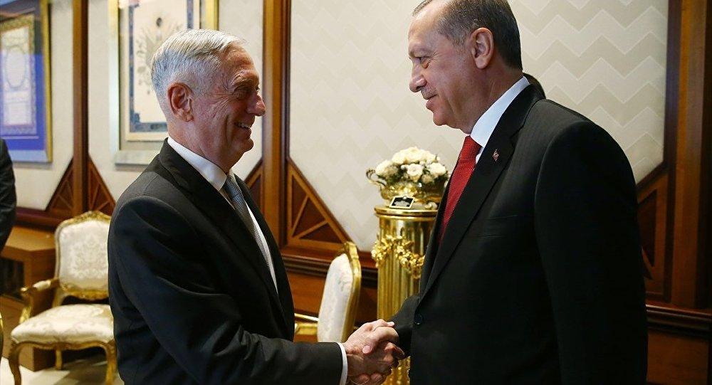 Эрдоган высказал главе Пентагона все - Фото
